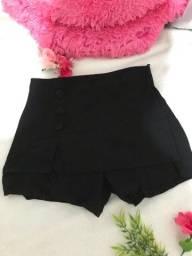 Título do anúncio: Short saia preto