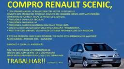 Título do anúncio: Renault Scenic 1.6 16v Hilflex - Compro á vista
