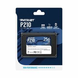 Título do anúncio: Ssd 256GB Patriot para PC e Notebook, Novo, lacrado de Fábrica