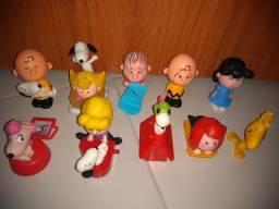 Coleção Charlie Brown MC Donald's.
