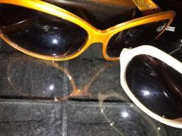 Lote com 3 óculos !