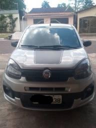 Fiat UNO Drive 17/18 Prata
