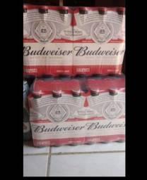 Cerveja Budweiser Caixa com 24 unidades