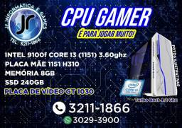 Título do anúncio: Gamer - Core I5- Core i5-9400F Cache 9MB 2.9GHz - 9 Ger - GT 1030