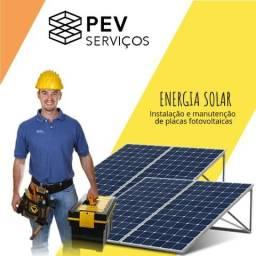 Instalação e Manutenção de Placas Fotovoltaicas - Energia Solar