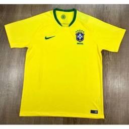 T-shirt SELEÇÃO BRASILEIRA MODELO TORCEDOR