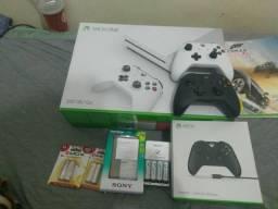Xbox one S ( modelo novo / completo )