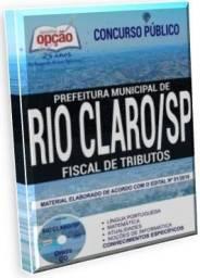 Apostila Fiscal de Tributos Concurso Prefeitura de Rio Claro-SP