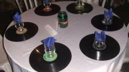 Discos de vinil para decoração