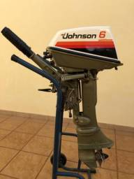 MOTOR POPA JHONSON 6 Hps ( RARIDADE)