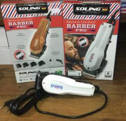 Máquina Barber Pró soling barbeiro