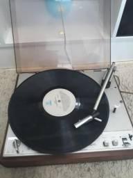 Toca disco Philips com mais de 30 dicos