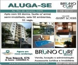 Apto Mobiliado Ed Village Saint Louis - Londrina