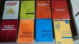 Livros de administração e secretariado, 22 livros por 30,00