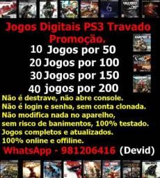 Jogos PS3 Travado (Promoção)
