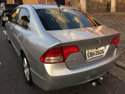 Honda civic lxs automático flex novíssimo - 2008
