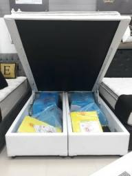 Cama Box Bau Queen, Compre Direto Da Fabrica 2764-9640/98389-1364 Monica