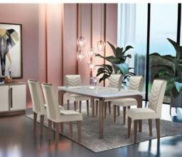 Mesa de Jantar com 6 Cadeiras J68 - Londrina