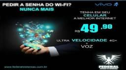 Internet móvel ilimitada só 59.90 mês