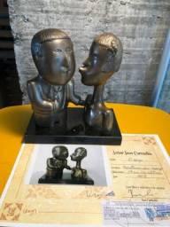 Escultura/Estátua de Bronze- Inos Corradin - Com certificado