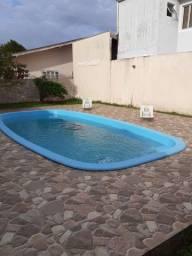 Casa com piscina praia Guaratuba diária