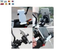 Suporte Celular + Carregador Tipo X - Moto