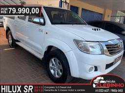 TOYOTA HILUX 3.0 SR 4X4 CD 16V TURBO INTERCOOLER DIESEL 4P MANUAL