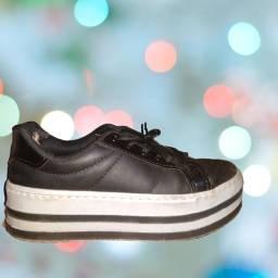 Tênis sneaker alto