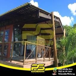 Bangalô TODO MOBILIADO com 2 dormitórios para alugar por R$ 2.500/mês - Alhandra/PB