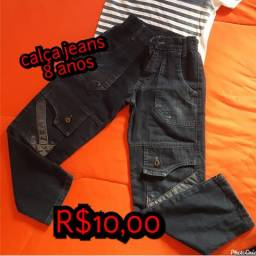 Calça jeans 8anos
