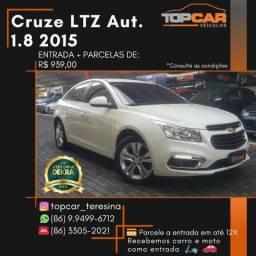 Cruze LTZ 1.8 2015 Automático - 2015