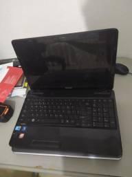Dois Notebook toshiba 4 de ram 500 HD. RETIRADA DE PEÇAS