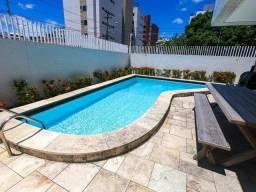 Alugo apartamento em Cabo Branco 287 M2 , 4,000 C/C incluso