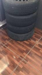 4 rodas e pneus zeros