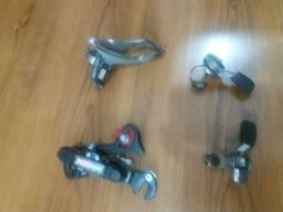Kit de marchas para bike aro 16 20 24 26 ou 29