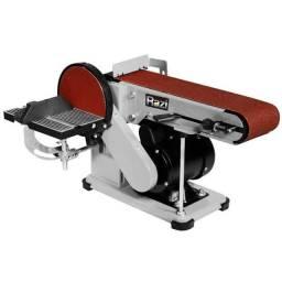 Lixadeira Combinada Fita e Disco 150mm 375W 110V - RAZI-LIX150