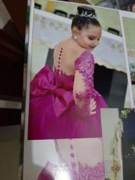 Vestido de luxo Rosa