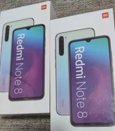 Xiaomi Redmi note 8 64 GIGAS . novo lacrado com garantia e entrega imediata rápida
