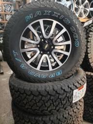 Rodas S10 LTZ aro 18 com pneus