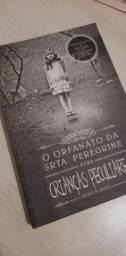 Livro O orfanato da Srta Peregrine para criança peculiares