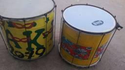 Vendo tambor  treme Terra casa cada um pbor 500