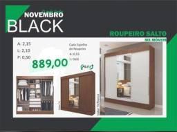 GUARDA ROUPA GRANDE C ESPELHO PREÇO EXCELENTE IMPERDÍVEL