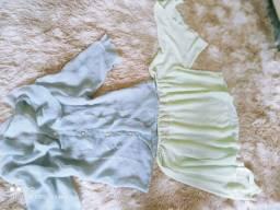 Blusas pano leve verão