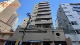 Apartamento à venda no Edifício Nilton Nereu, 02 dormitórios, garagem privativa - Centro d