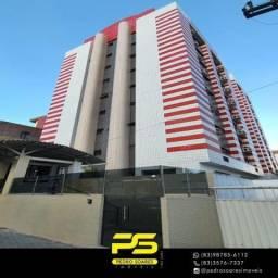 Título do anúncio: Apartamento com 2 dormitórios para alugar, 68 m² por R$ 1.500/mês - Cabo Branco - João Pes