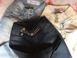Lindas calças jeans novos n 36 R$20.00