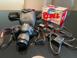 Câmera Cânon rebel T5, para vender rápido!
