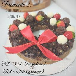 Guirlanda de brownie R$ 75,00