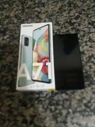 Celular Samsung A 71 Novo Com Nota Fiscal E Todos Os Acessórios.
