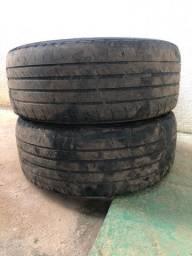 Vendo 2 pneus aro 17 pra tirar do prego.
